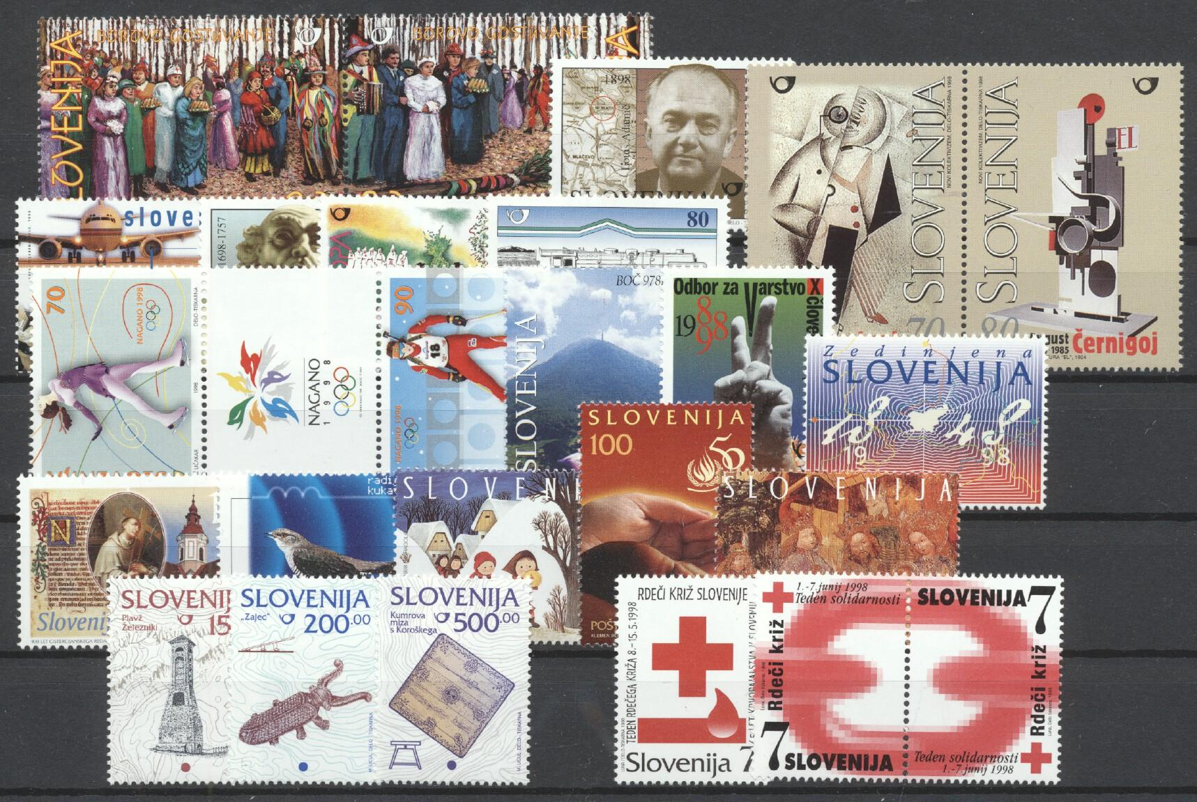 Stamps with Miscellaneous from Slovenia (image for product #259317)