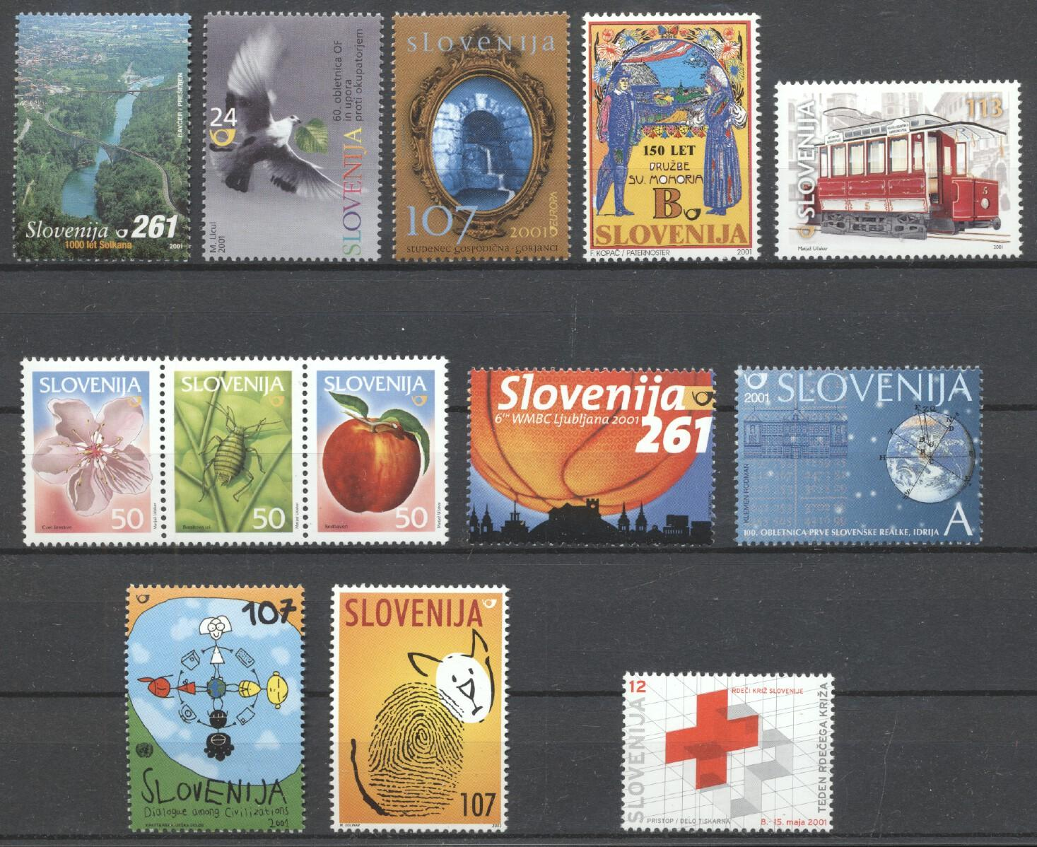 Stamps with Miscellaneous from Slovenia (image for product #259337)