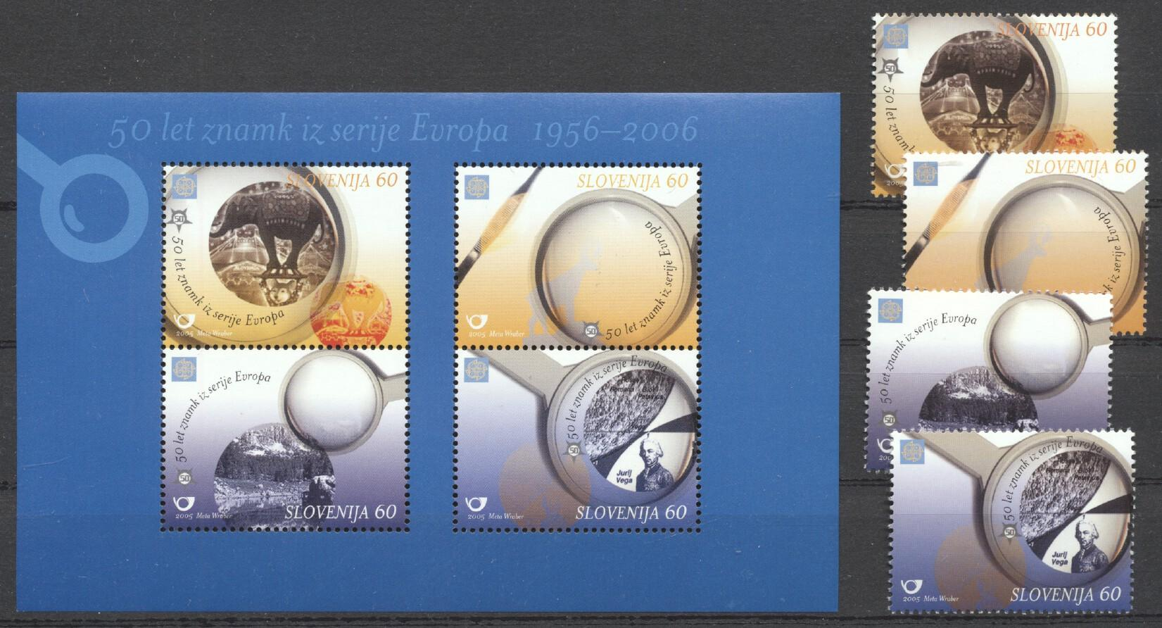 Stamps with Europe, Elephants from Slovenia (image for product #259372)