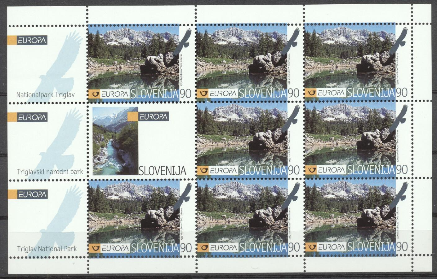 Stamps with Europe, Nature, Landscapes, Mountain from Slovenia (image for product #259486)