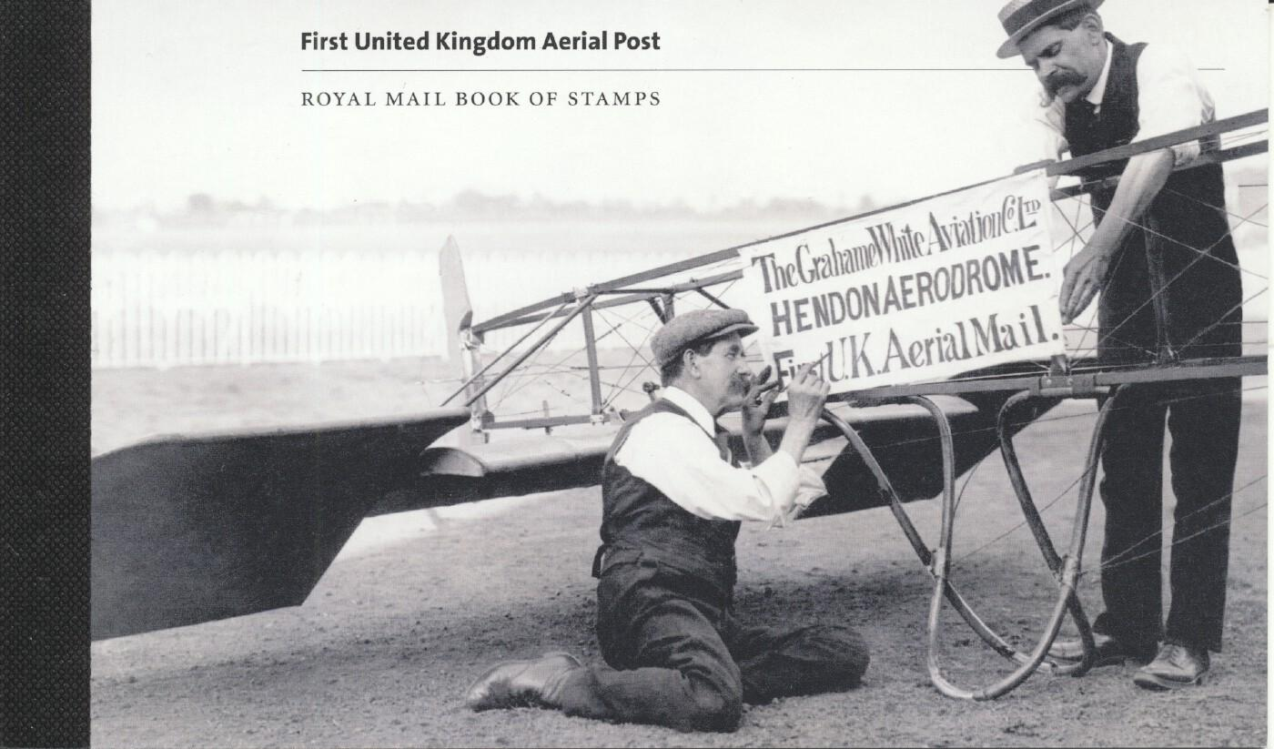 Stamps with Aircraft, Prestige booklet from United Kingdom (image for product #261679)