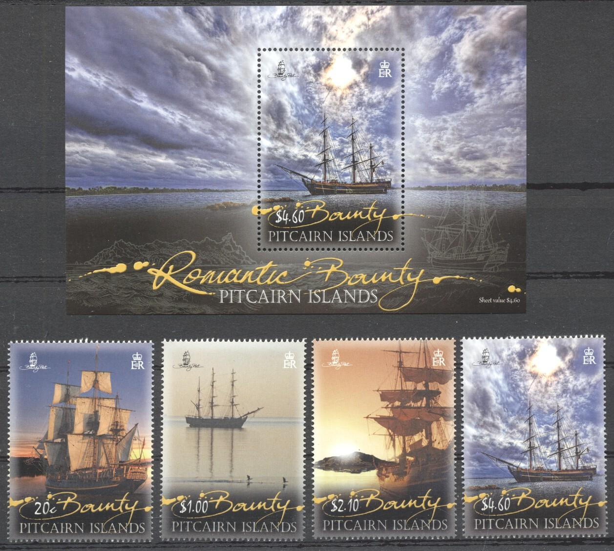 Stamps with Ship from Pitcairn (image for product #263084)