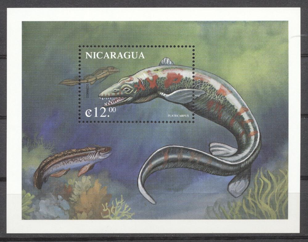 Stamps with Fish from Nicaragua (image for product #264241)