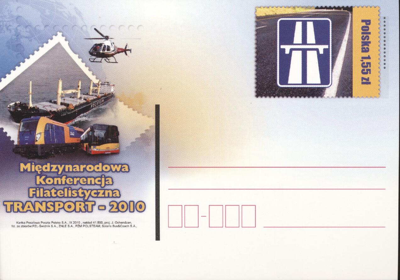 Stamps with Train / Railway, Helicopter, Traffic from Poland (image for product #267995)