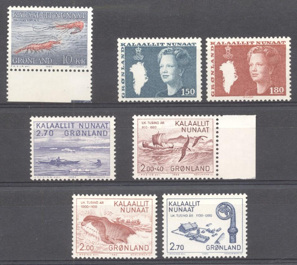 Stamps with Miscellaneous from Greenland (image for product #268187)