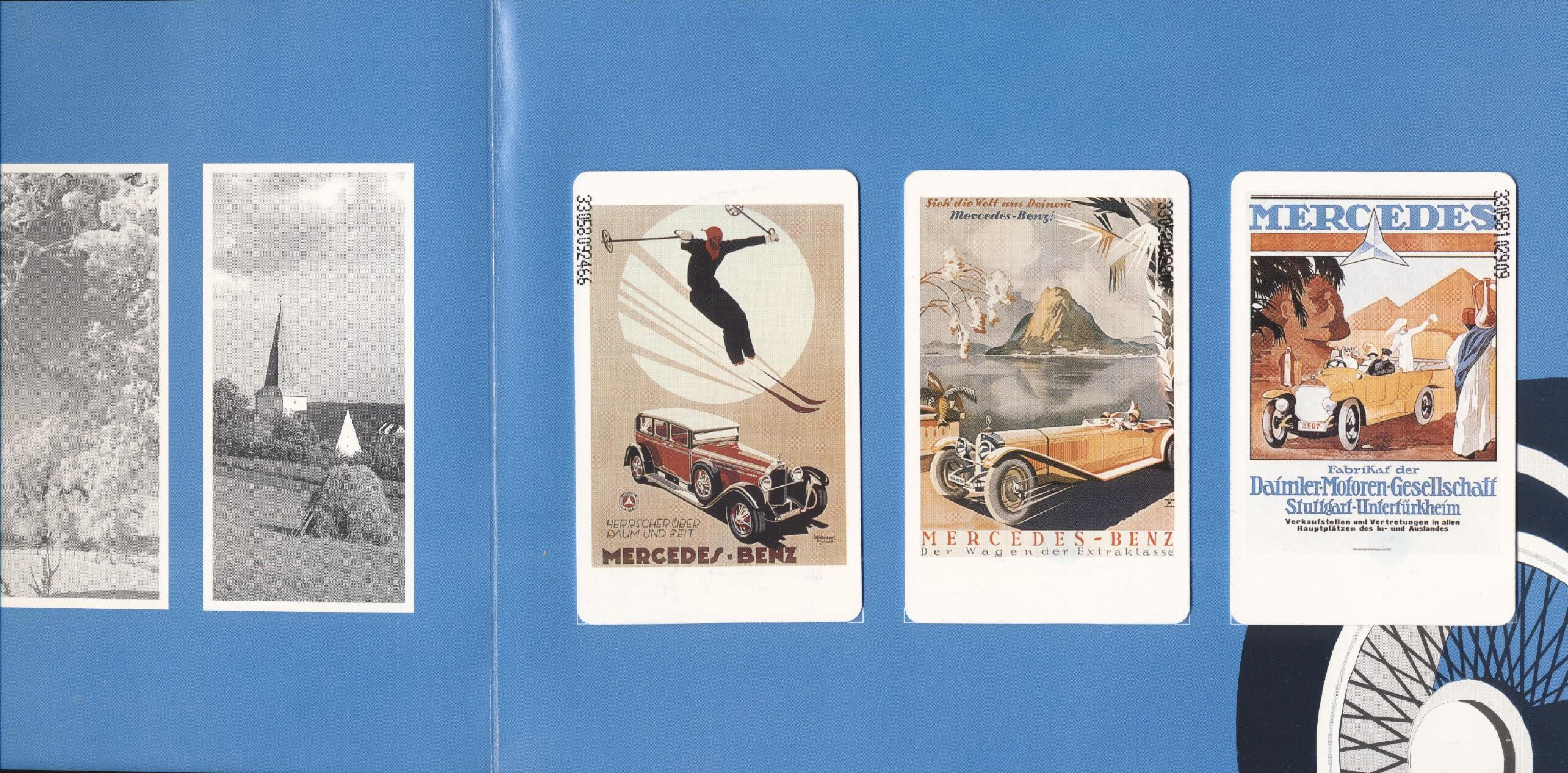 Stamps with Cars, Oldtimers, Mercedes from Germany (image for product #268265)
