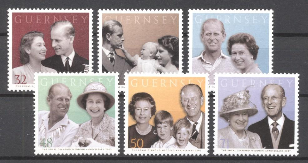 Stamps with Royalty from Guernsey (image for product #272830)