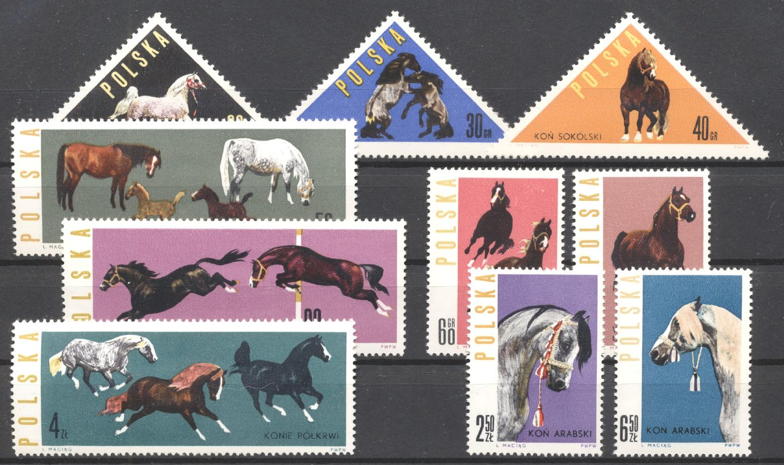 Stamps with Horse from Poland (image for product #274832)
