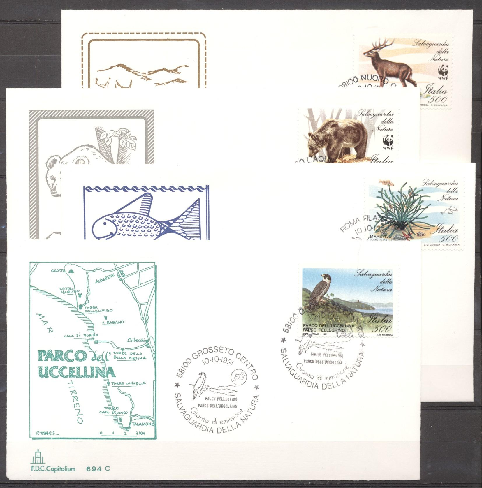Stamps with WWF from Italy (image for product #276492)