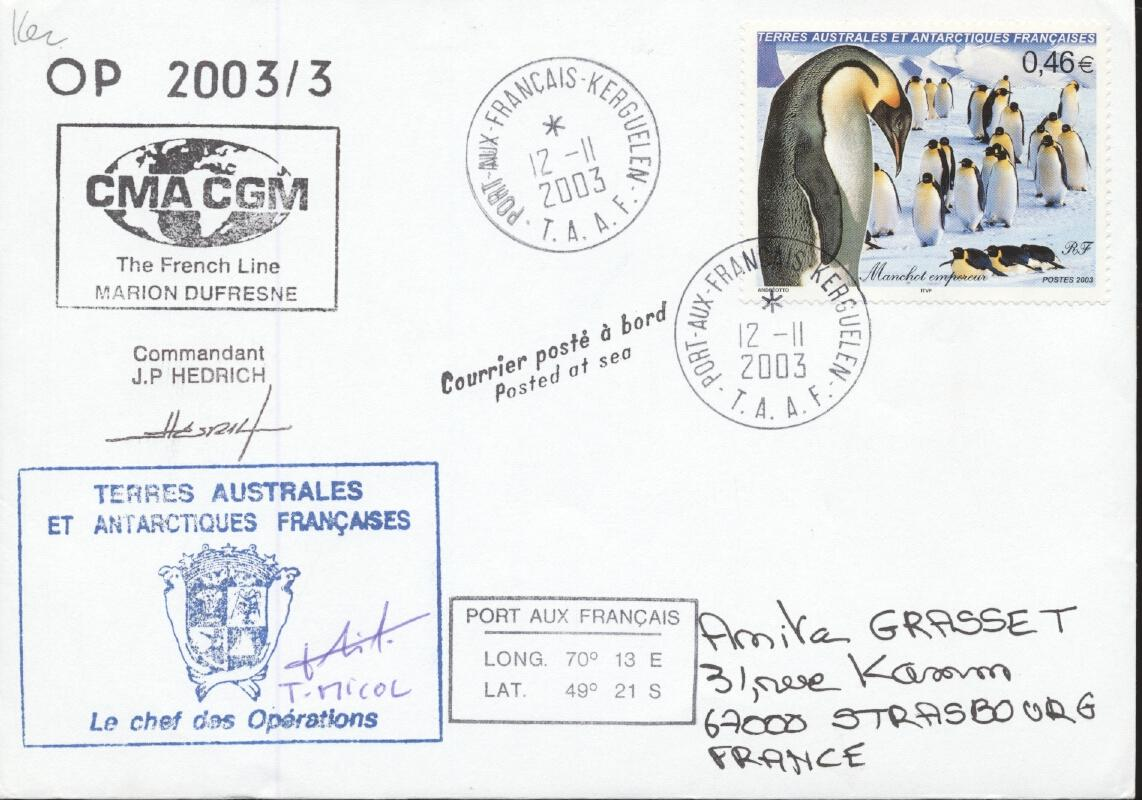 Stamps with Antarctics from TAAF (image for product #284072)