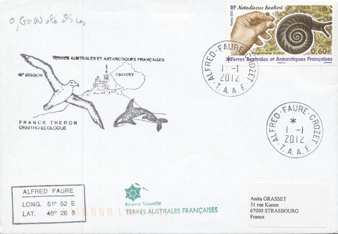Stamps with Antarctics from TAAF (image for product #284351)