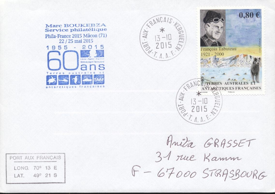 Stamps with Antarctics from TAAF (image for product #284439)