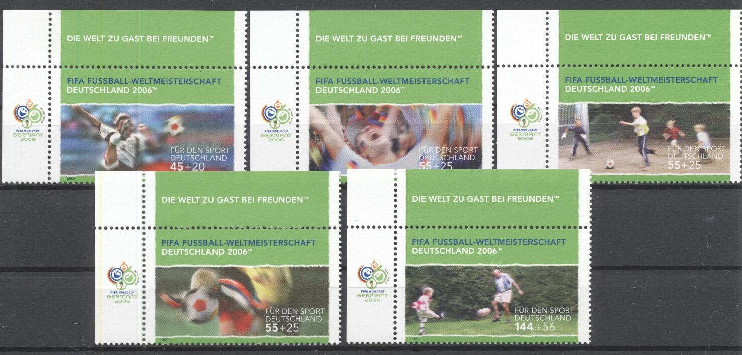 Stamps with Soccer from Germany (image for product #284947)