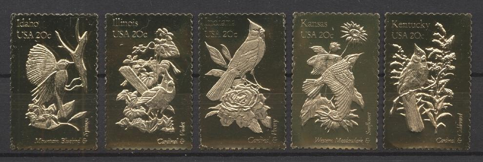 Stamps with Bird from USA (United States) (image for product #290112)