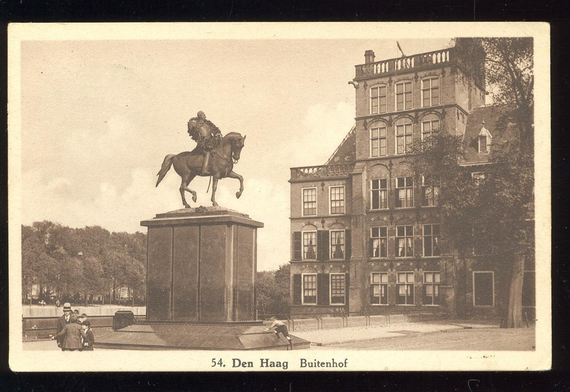 Stamps with Horse, Statue, Den Haag from Netherlands (image for product #950036)