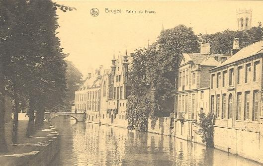 Stamps with Bridge, Swan, Towns (Belgium) from Belgium (image for product #950384)