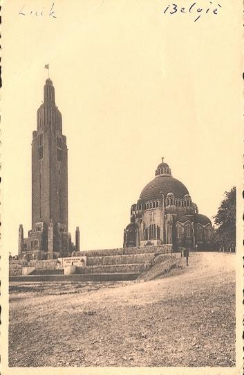 Stamps with Church, Liège from Belgium (image for product #950444)