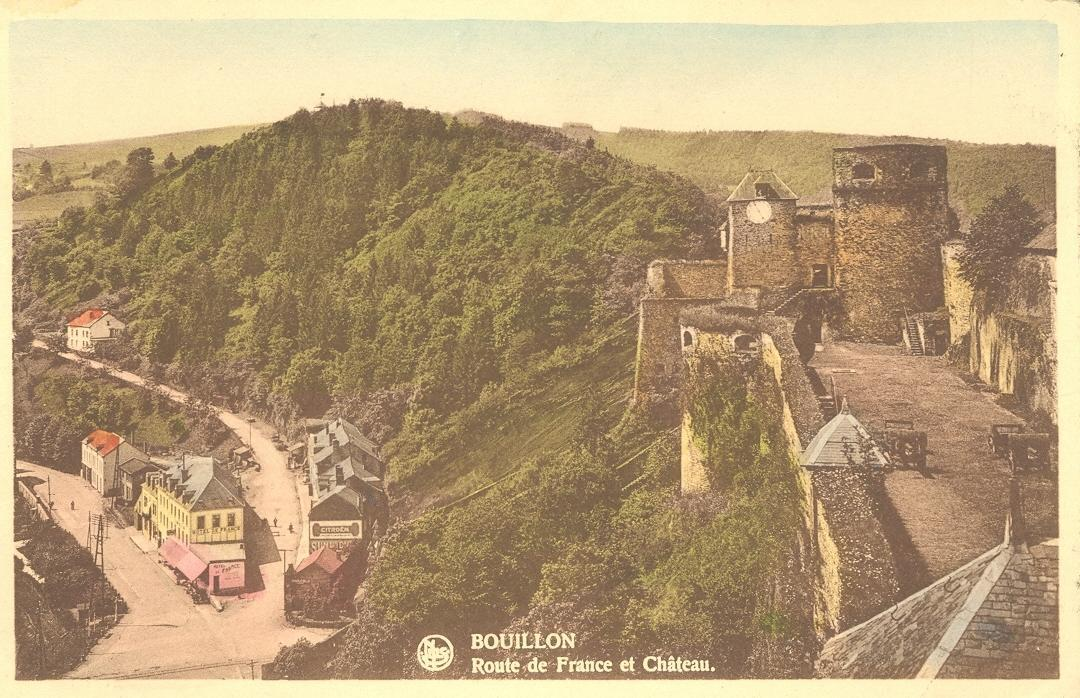 Stamps with Towns (Belgium), Fortress from Belgium (image for product #950469)