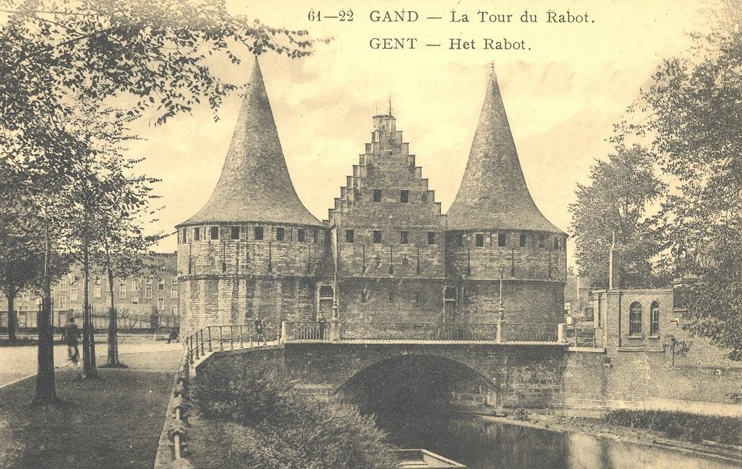 Stamps with Towns (Belgium), Tower from Belgium (image for product #950480)