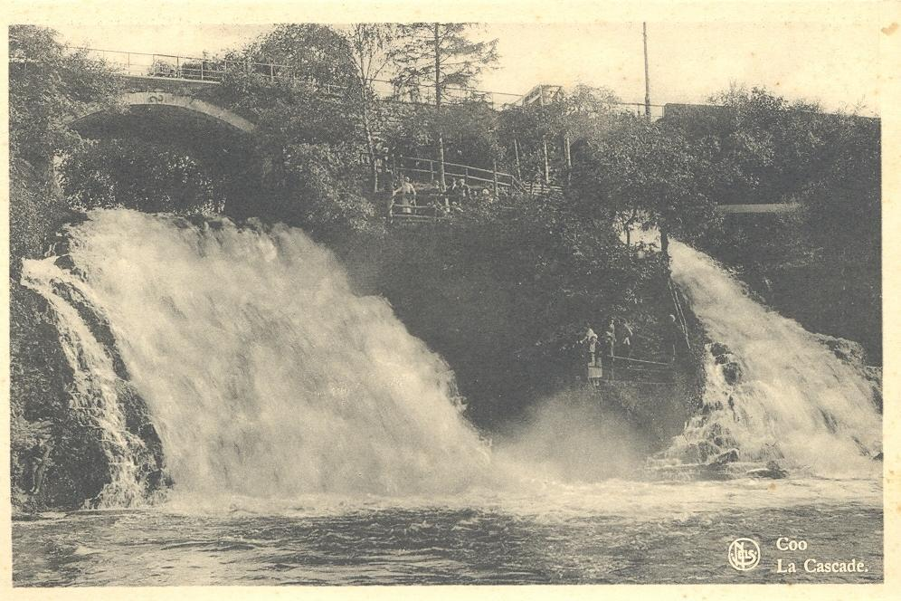 Stamps with Coo, Waterfall from Belgium (image for product #950487)